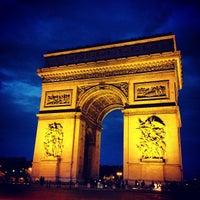 Photo taken at Arc de Triomphe by Sharita D. on 7/2/2013