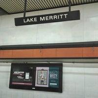 Photo taken at Lake Merritt BART Station by Eddie S. on 4/26/2013