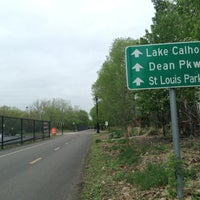 Photo taken at The Midtown Greenway by Santa E. on 5/17/2013
