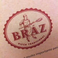 Photo taken at Bráz Pizzaria by Diogo L. on 1/26/2013