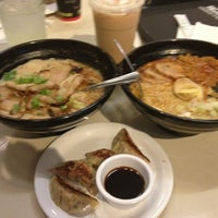 Photo taken at Ajisen Ramen by Milton V. on 12/30/2012