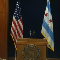 Photo taken at Chicago City Hall by Alicia A. on 6/6/2013