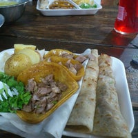 Photo taken at La Lupita Tacos by Orlando A. on 10/28/2013
