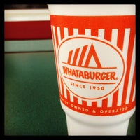 Photo taken at Whataburger by Chris E. on 8/26/2013