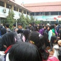 Photo taken at SMA Negeri 24 Bandung by Muhamad N. on 2/28/2014