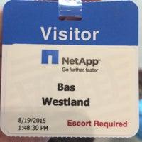 Photo taken at NetApp by Bas W. on 8/19/2015