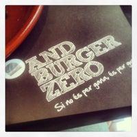 Photo taken at AndBurgerZero by Alberto E. on 6/1/2013