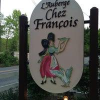 Photo taken at L'Auberge Chez Francois by Jonas M. on 5/3/2013
