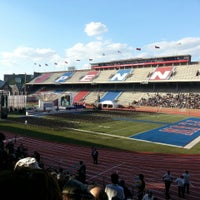 Photo taken at Franklin Field by Michael C. on 5/12/2013