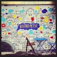 Photo taken at Bistro Petit by Christine H. on 7/28/2013