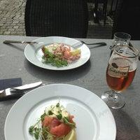Photo taken at Siesta Bar & Restaurang by Marie K. on 6/24/2013