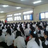 Photo taken at SMKN 4 Denpasar by Novi A. on 7/13/2013