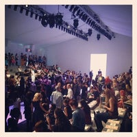 Photo taken at The Stage At MBFW by ShopSaveSequins on 9/5/2013