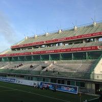 Photo taken at Leo Stadium by Oranuch T. on 5/15/2013