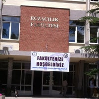 Photo taken at Eczacılık Fakültesi by Murat K. on 6/24/2013