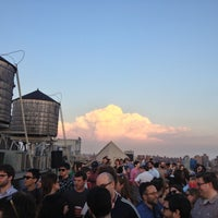 Photo taken at Meetup HQ Roof Deck by Gianfranco P. on 5/17/2013