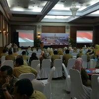Photo taken at Makassar Golden Hotel (MGH) by Ansuard K. on 2/23/2016