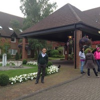 Photo taken at Donnington Valley Hotel & Spa by Eldiar S. on 9/30/2013