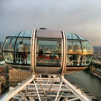 Photo taken at The London Eye by Моха Д. on 7/16/2013