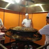 Photo taken at Yuan Palace Mongolian BBQ by Greg N. on 1/2/2013