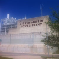 Photo taken at Seaholm Power Plant by Beni G. on 4/14/2013