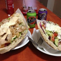 Photo taken at Döner Kebab Can Bey by Tereza D. on 6/26/2013