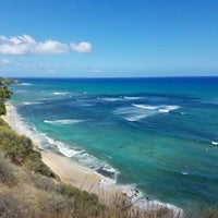 Photo taken at Diamond Head Scenic Point by hayes l. on 7/13/2016