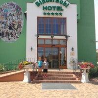 Photo taken at BinderBubi Hotel & Spa by Colin K. on 6/25/2013