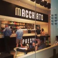 Photo taken at Macchiato Espresso Bar by Winnie on 5/31/2013