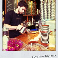Photo taken at Workshop Espresso by Natalia H. on 5/10/2013
