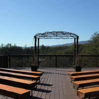 Photo taken at Mountain Valley Wedding Chapel by Locu L. on 3/9/2016