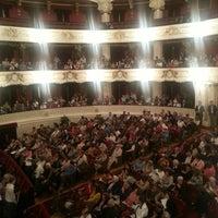 Photo taken at Teatro Municipal de Santiago by Felipe Andrés F. on 10/9/2013