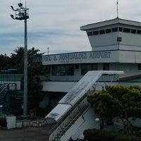 Photo taken at Daniel Z. Romualdez Airport by Superdan O. on 5/10/2013