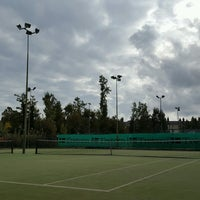 Photo taken at Bective Tennis by Iarla B. on 10/7/2016