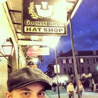 Photo taken at Goorin Bros. Hat Shop - French Quarter by Justin B. on 2/2/2014