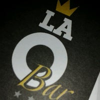 Photo taken at La O Bar by Ingrid A. on 9/3/2012