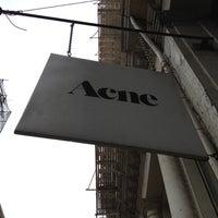 Photo taken at Acne Studios by nika on 4/23/2012