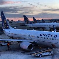 Photo taken at Newark Liberty International Airport (EWR) by Michael A. on 10/9/2013