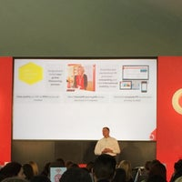 Photo taken at Vodafone HQ by Esra C. on 10/13/2015