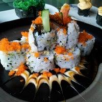 Photo taken at Sushi Naga by Katarina F. on 4/6/2013