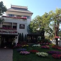 Photo taken at Rachamankha Flora House Chiang Mai by Vonchio K. on 2/8/2014