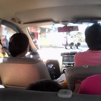 Photo taken at Jalan RW Monginsidi by Steven W. on 11/28/2014