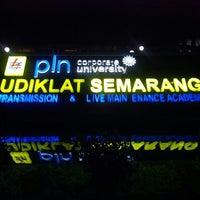 Photo taken at PT PLN (Persero) Udiklat Semarang by Rofiq M. on 11/13/2013