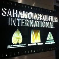 Photo taken at บริษัท สหมงคลฟิล์ม อินเตอร์เนชั่นแนล จำกัด (Sahamongkolfilm International Co., Ltd.) by Siwabhorn A. on 8/20/2013