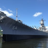 Photo taken at USS Wisconsin (BB-64) by Hugo P. on 7/6/2013