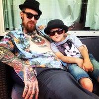 Photo taken at Modern Tattooing: Schiffmacher & Veldhoen by Roel B. on 5/25/2014