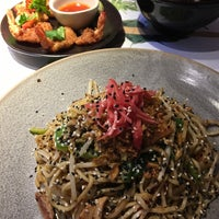 Photo taken at Wagamama by Tracey F. on 10/31/2016
