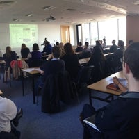 Photo taken at DCU Business School by Pat P. on 4/16/2013