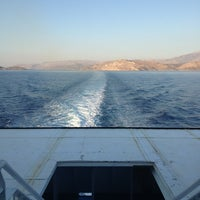 Photo taken at F/B Nissos Chios by Eleni A. on 7/30/2013