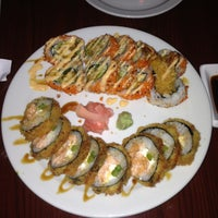 Photo taken at Rise Modern Asian Cuisine and Sushi by Jacquie L. on 5/18/2013